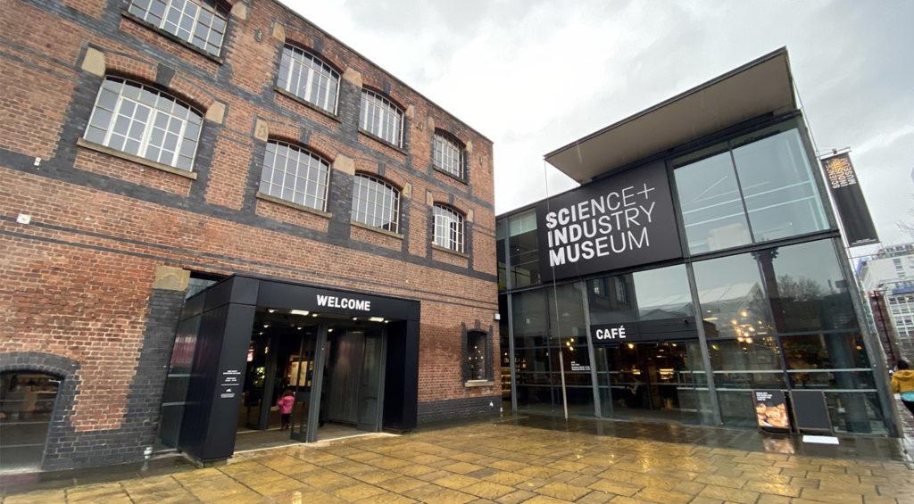 Le Science Industry Museum de Manchester