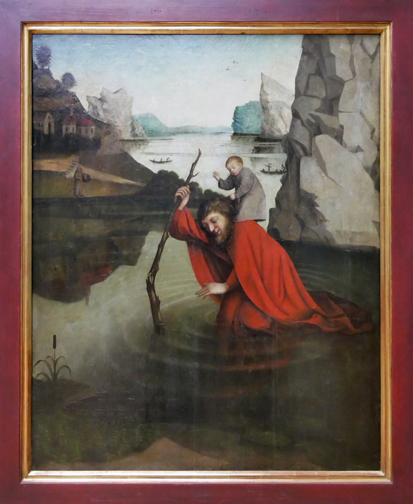 Konrad Witz, Saint Christophe, 1868