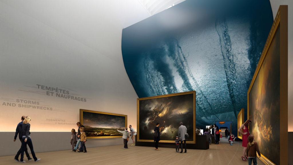 Future muséographie du musée de la Marine © Musée de la Marine