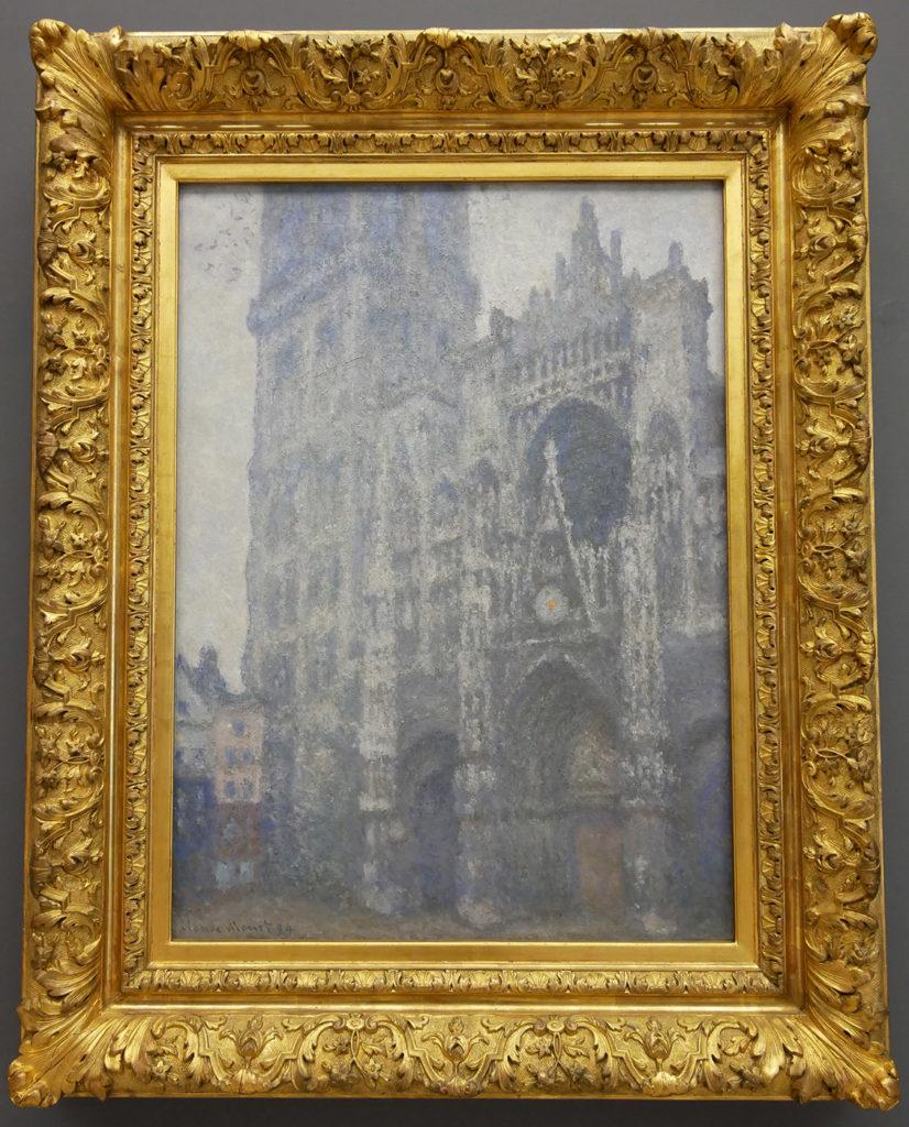 Claude Monet, Portail de la cathédrale de Rouen, temps gris