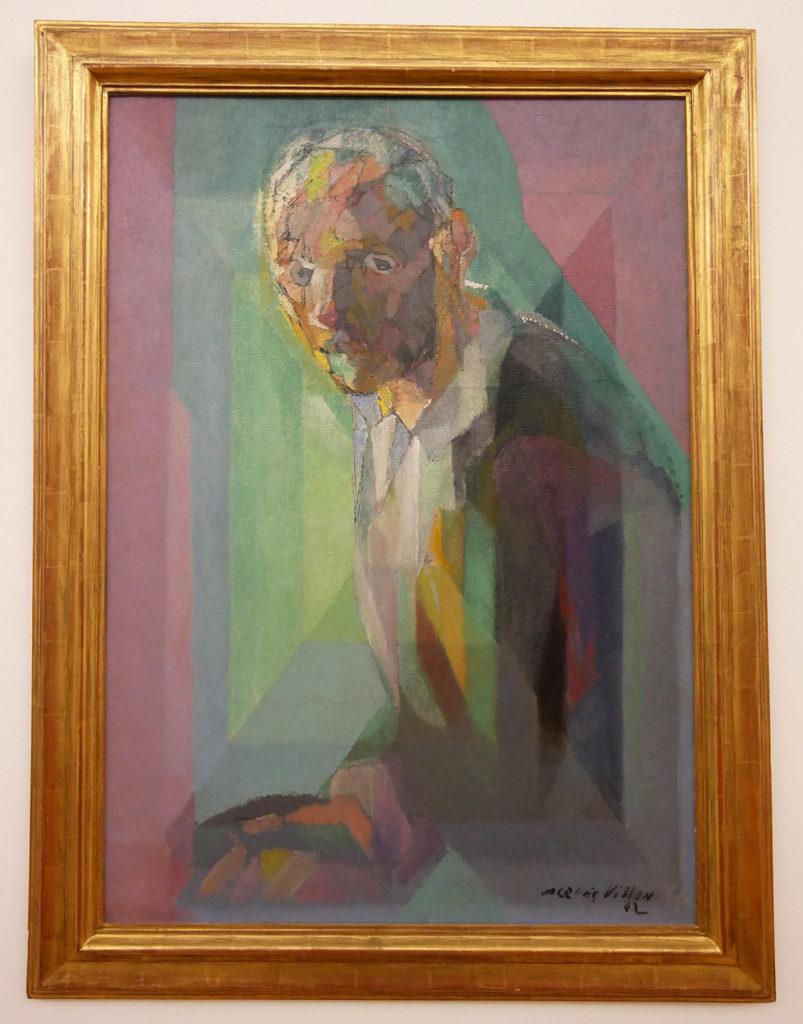 Jacques Villon, Portrait de l'artiste