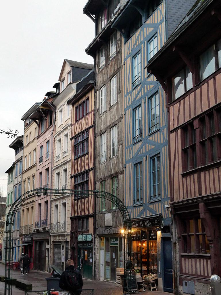 Rues médiévales de Rouen