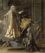 Sainte Françoise Romaine announcing in Rome the end of the plague, Nicolas Poussin, 1657