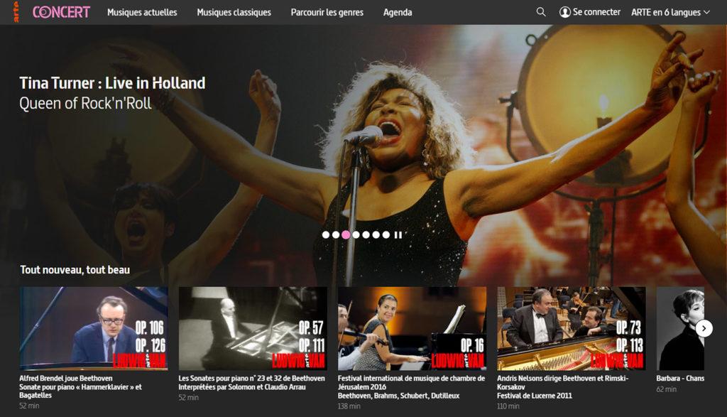 Concert en ligne