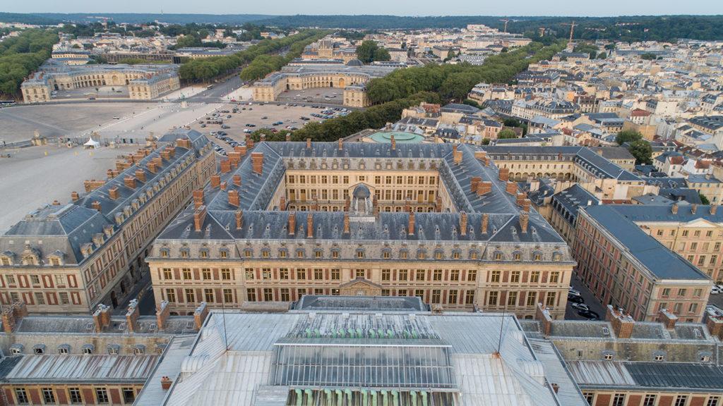 Bureaux du château de Versailles