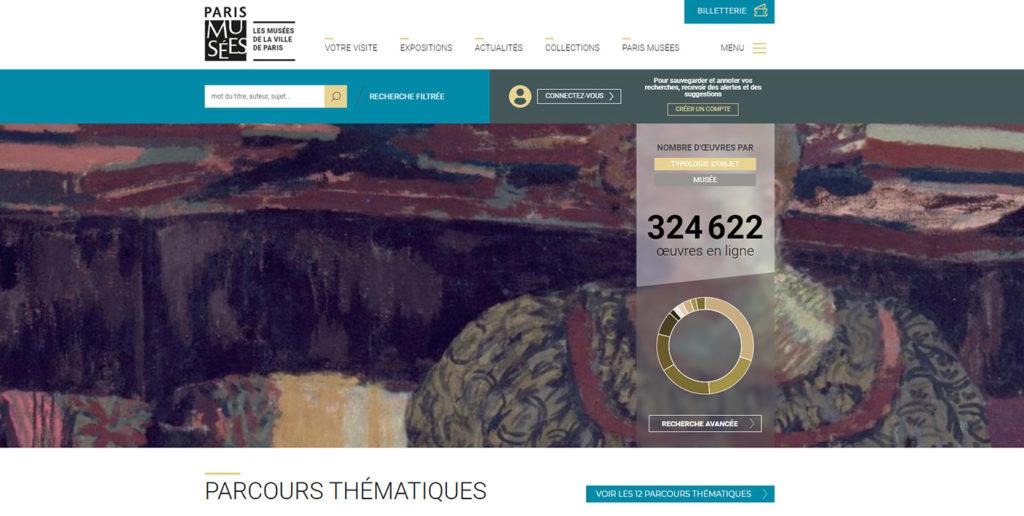 Aller au musée en ligne