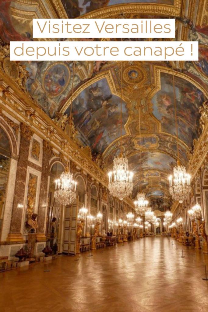 Visiter Versailles en ligne
