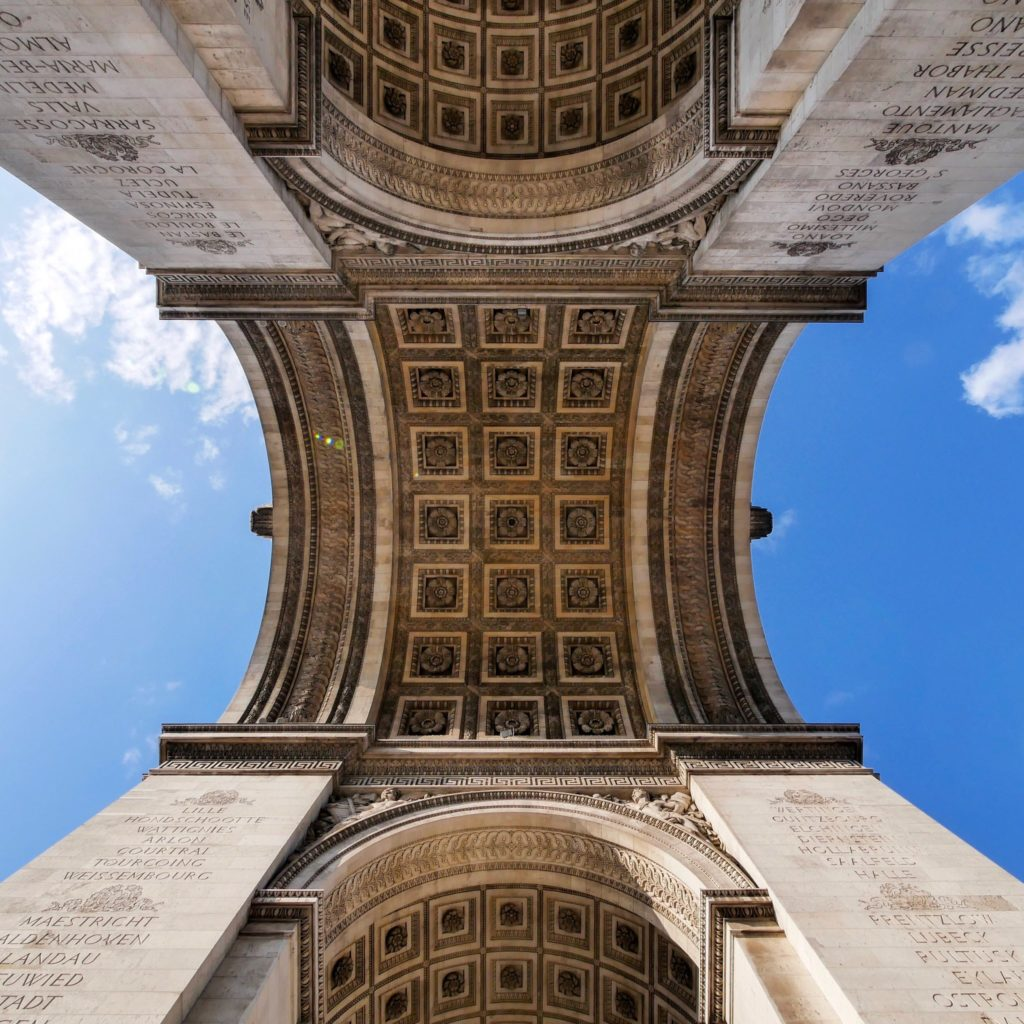 L'Arc de Triomphe pendant le confinement