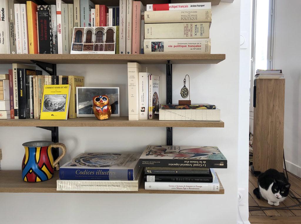 Louisa Torres bibliothèque de l'Arsenal