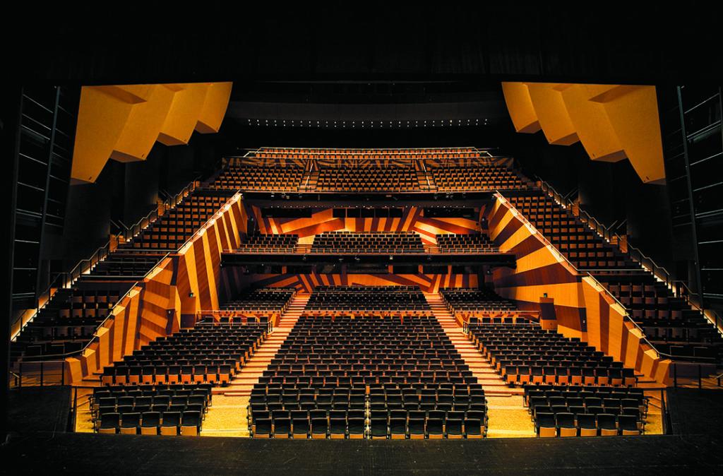 Auditorium de Dijon © Gilles Abegg – Opéra de Dijon
