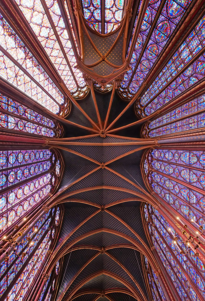 Holy Chapel in Paris
