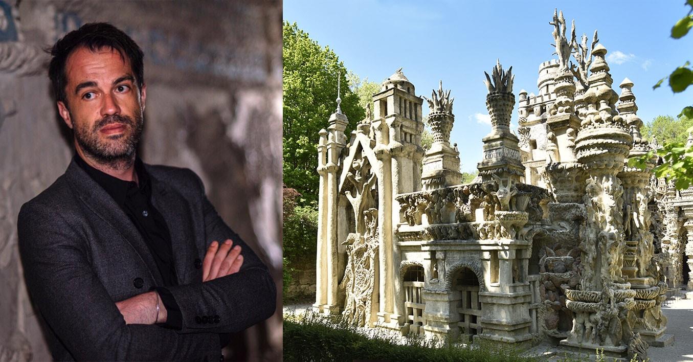 Frédéric Legros, directeur du Palais idéal du Facteur Cheval