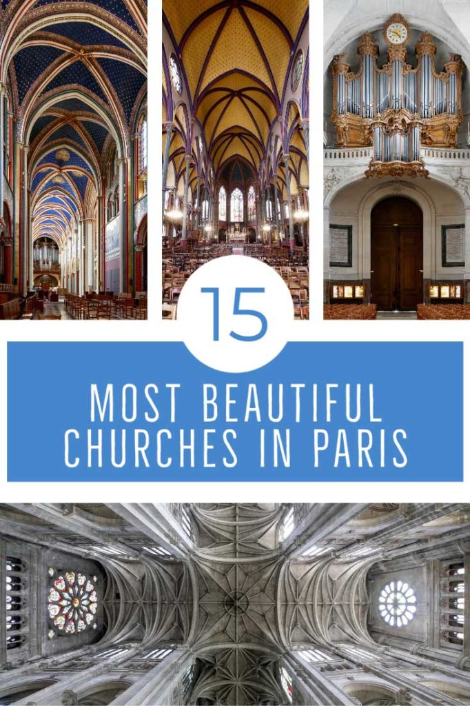 The most beautiful churches in Paris