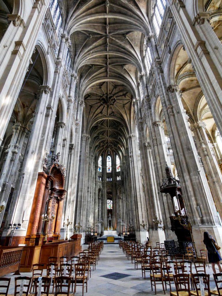 Saint Eustache church