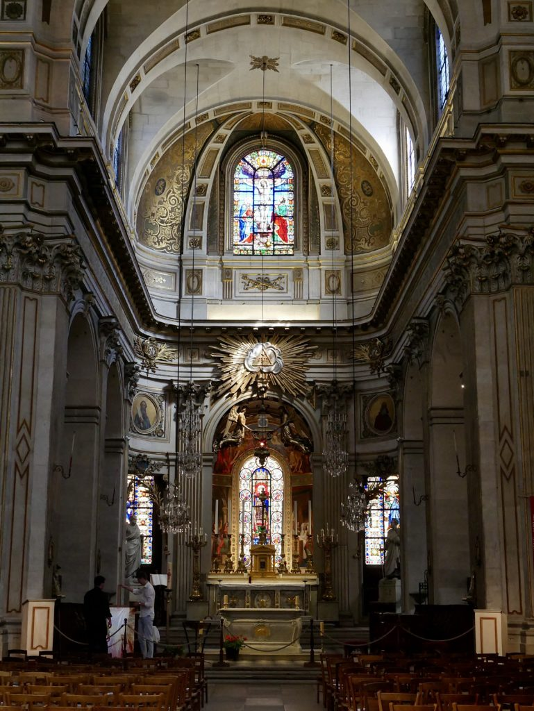 Saint Louis en l'Île church