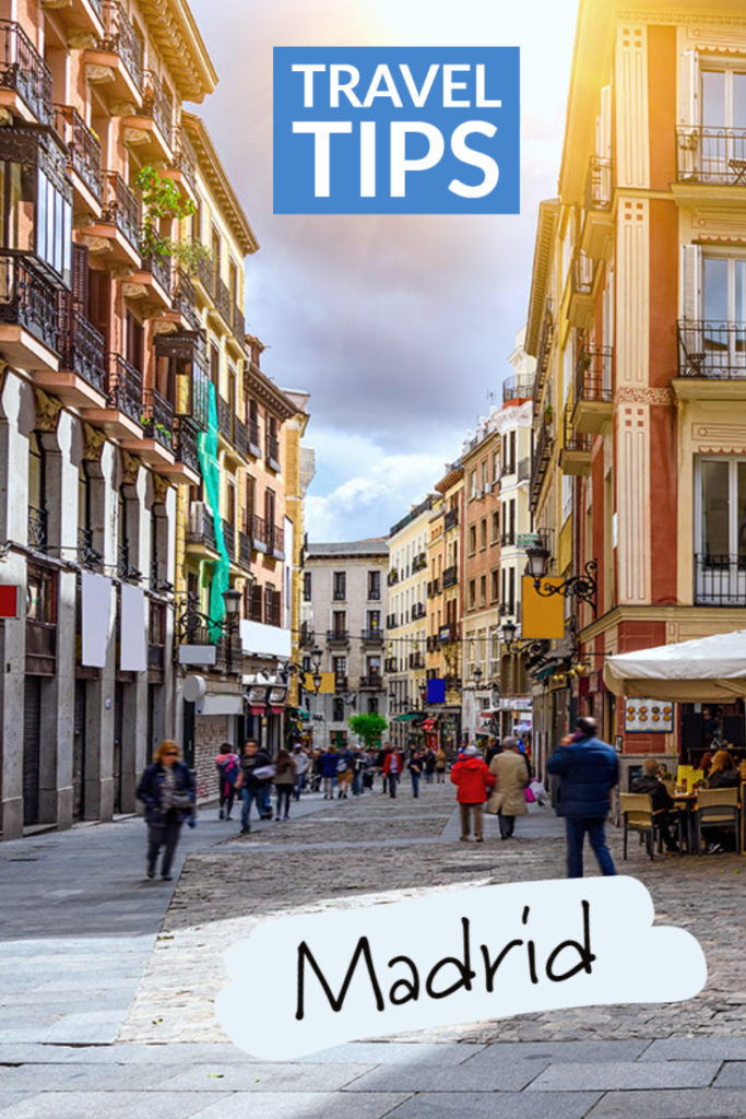 Travel tips for Madrid