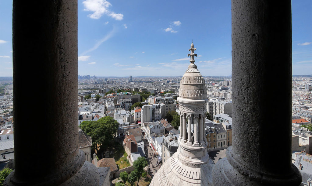 View of Paris from the Sacré-Coeur dome