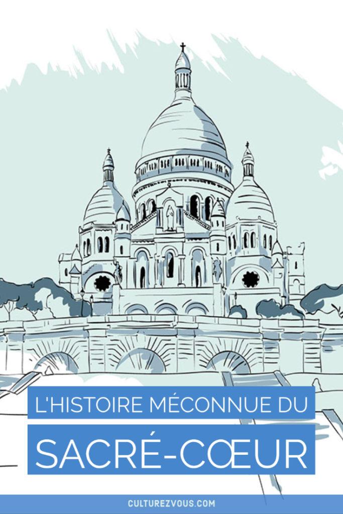 L'histoire du Sacré-Cœur à Paris