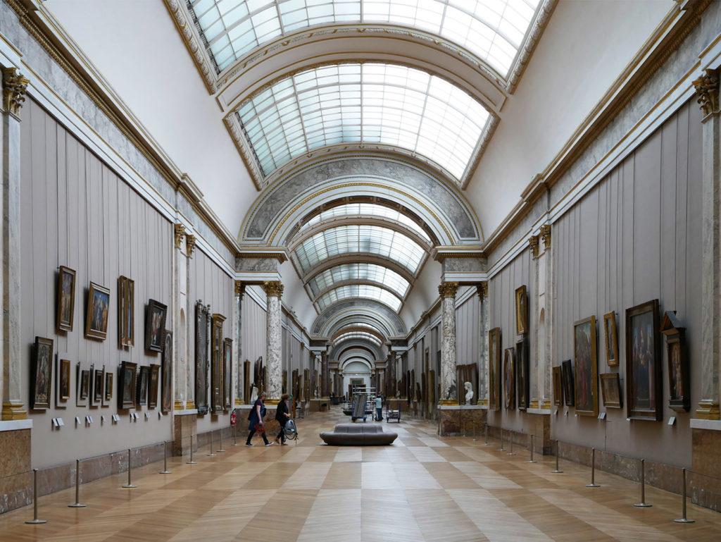 La Grande Galerie du musée du Louvre
