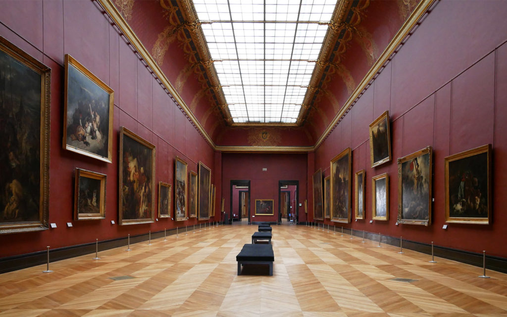 Private tour in the Louvre museum