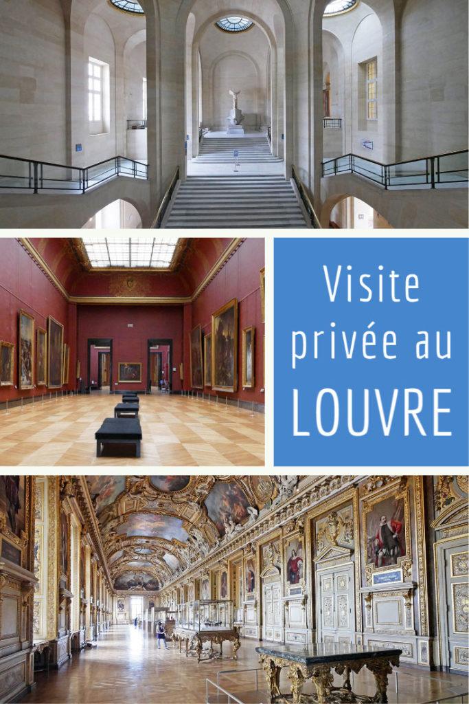 Visite privée au musée du Louvre