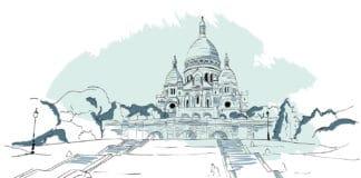 History of the Paris Sacre-Coeur basilica