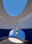 Bernar Venet in « Elliptic Elliptic » by James Turrell