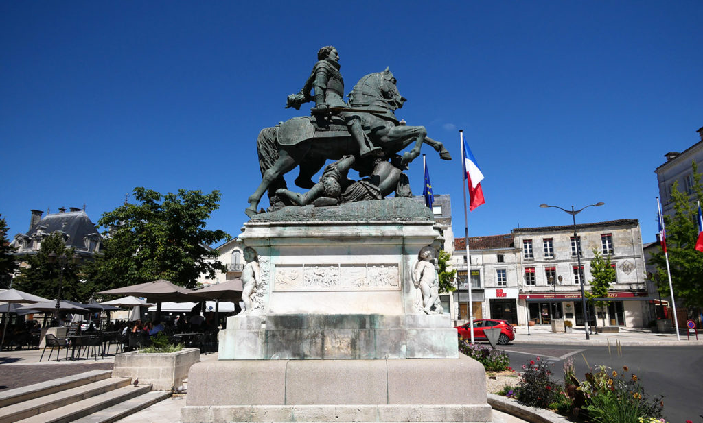 City guide in Cognac, France