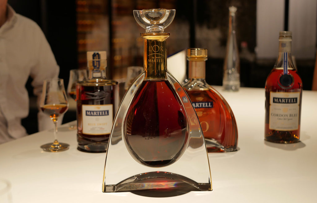 The gold cognac by Martell