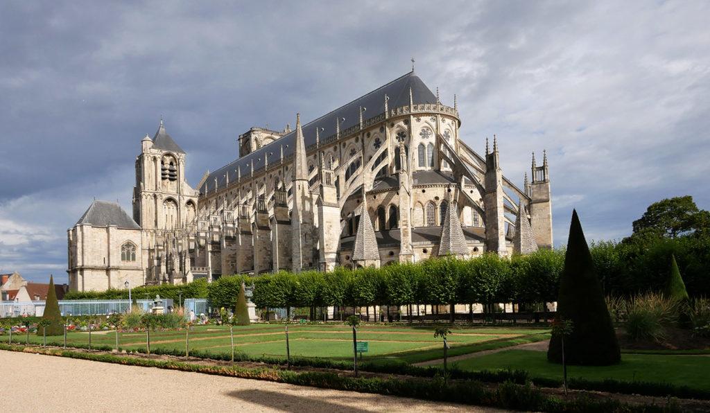 Cathédrale de Bourges dans le Berry