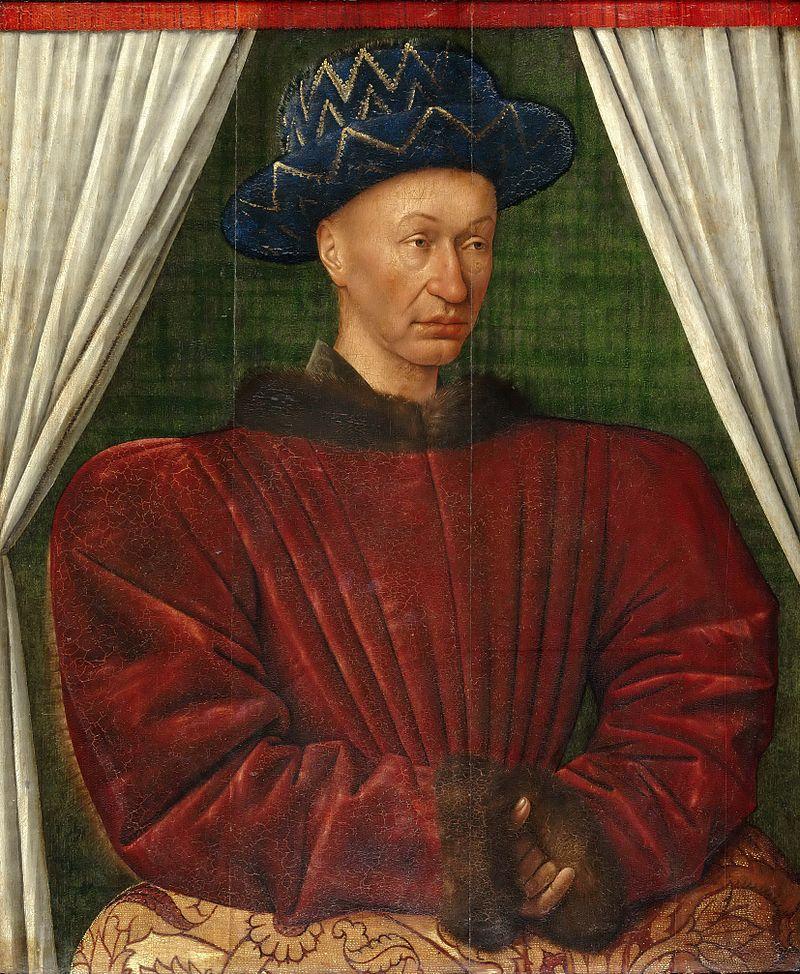 Portrait de Charles VII