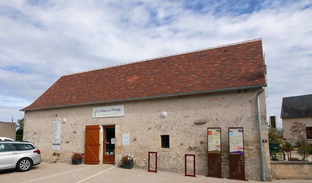 Maison du fromage à Pouligny saint Pierre