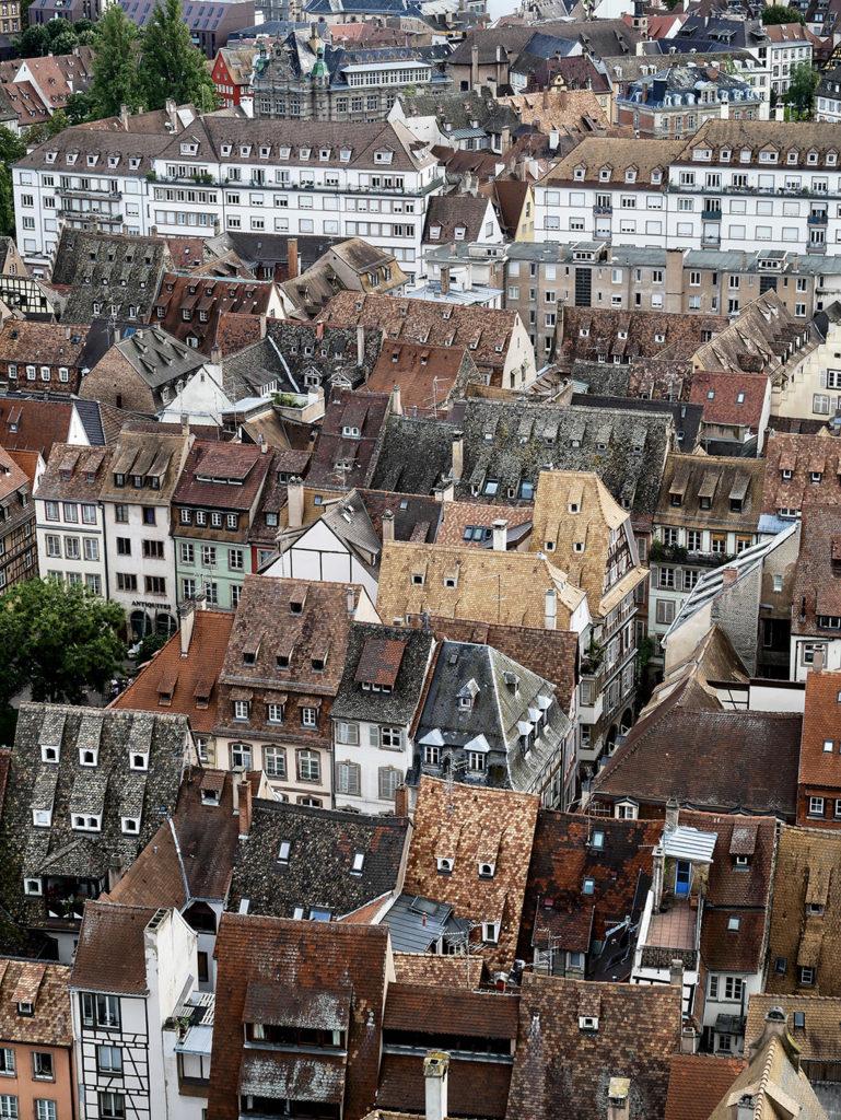 Полюбуйтесь видом на Страсбург с трибуны собора