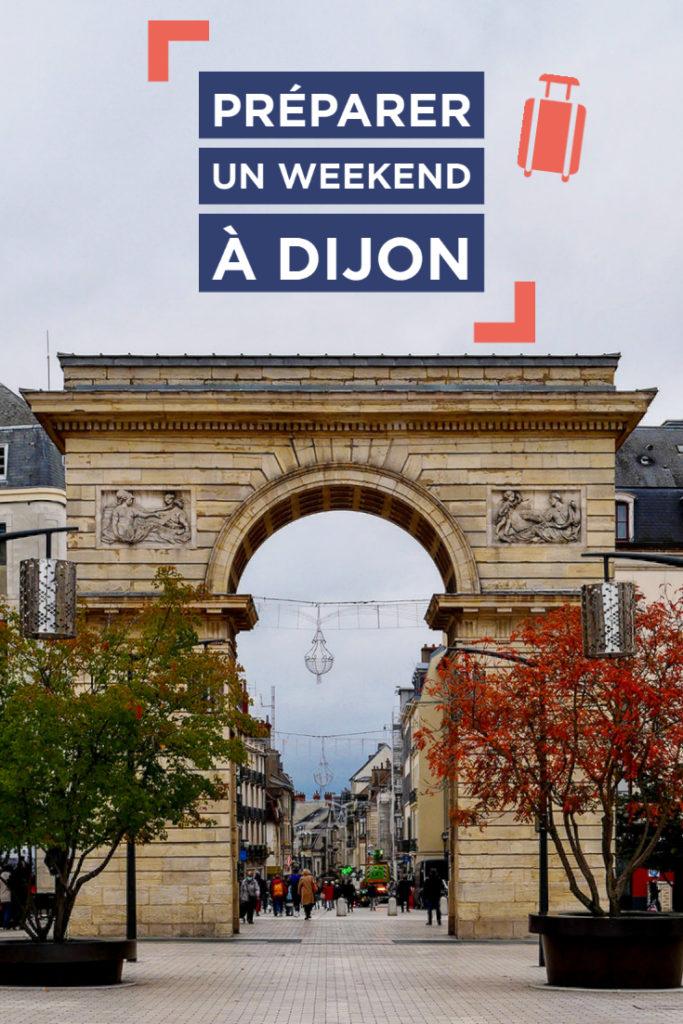 Préparer un weekend à Dijon