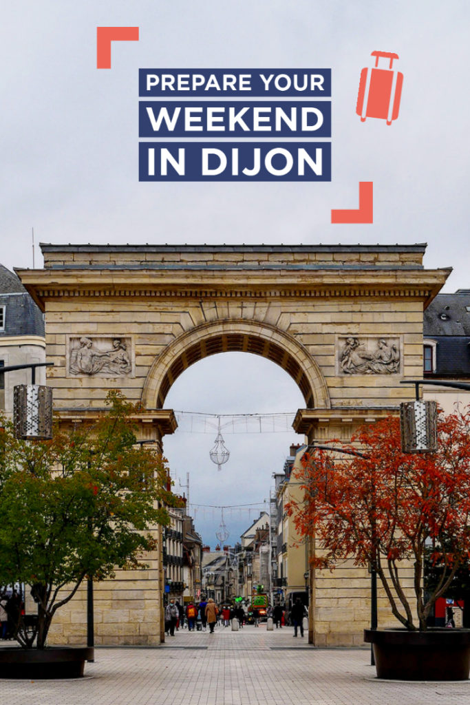 Prepare your weekend in Dijon