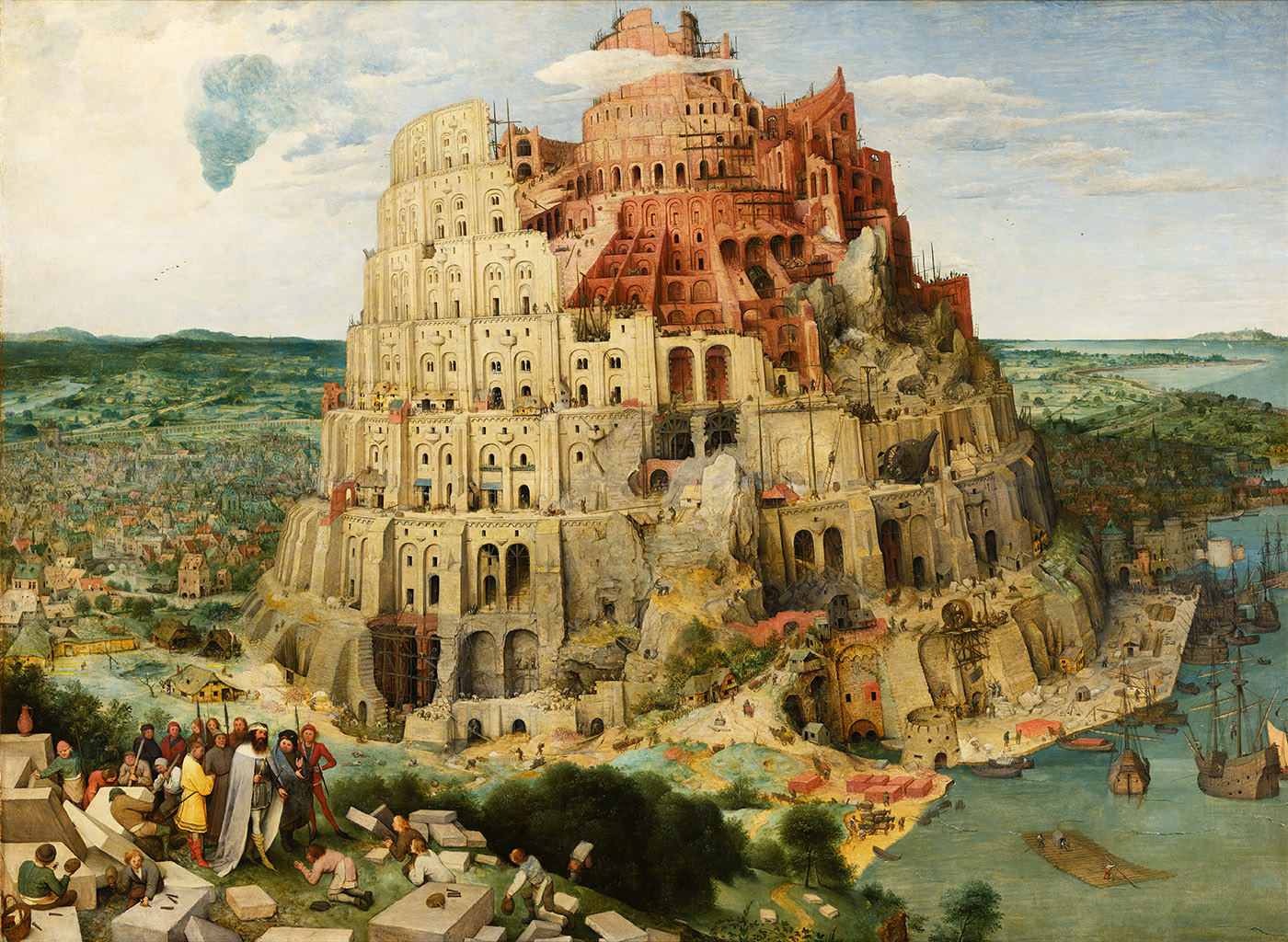 Pieter Brueghel the Elder, The great Tower of Babel