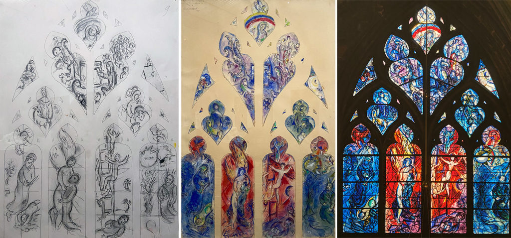Vitraux de Marc Chagall à Metz
