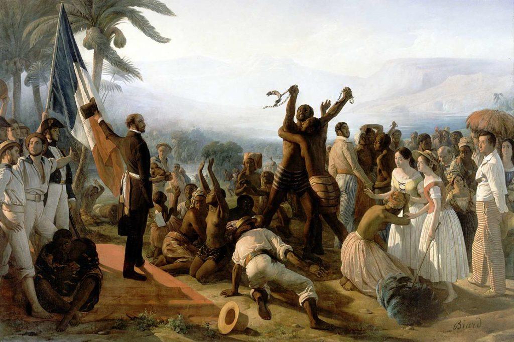 François Auguste Biard et la question de l'esclavage