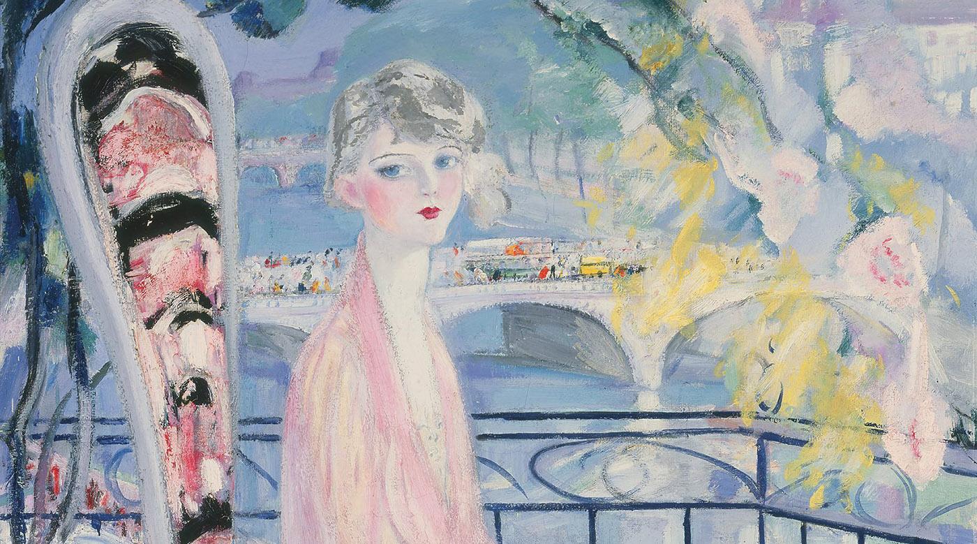 Jacqueline Marval, L'enfant de Paris (détail)