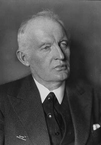 Edvard Munch in 1933