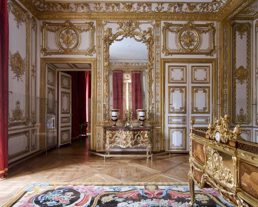 Cabinet d'angle du roi, château de Versailles