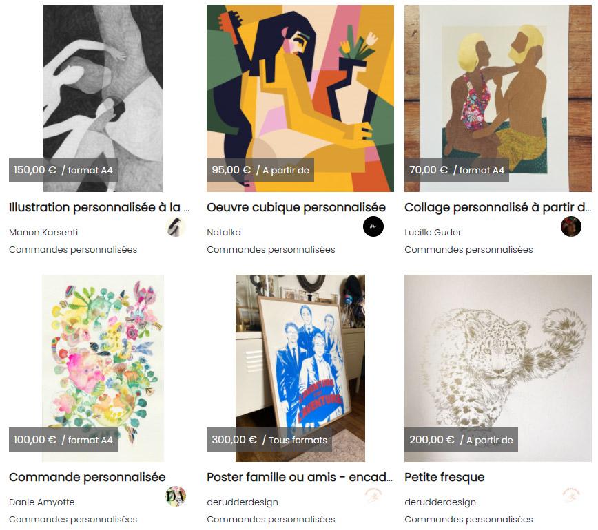 Acheter une oeuvre d'art sur Browsart