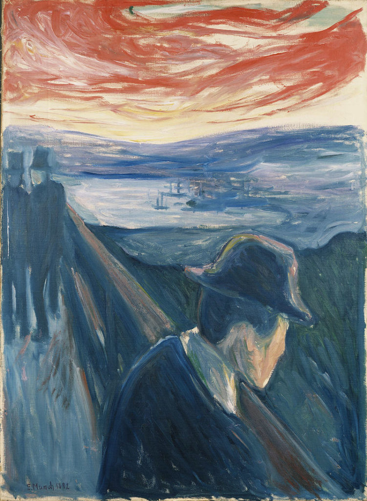 Edvard Munch, désespoir