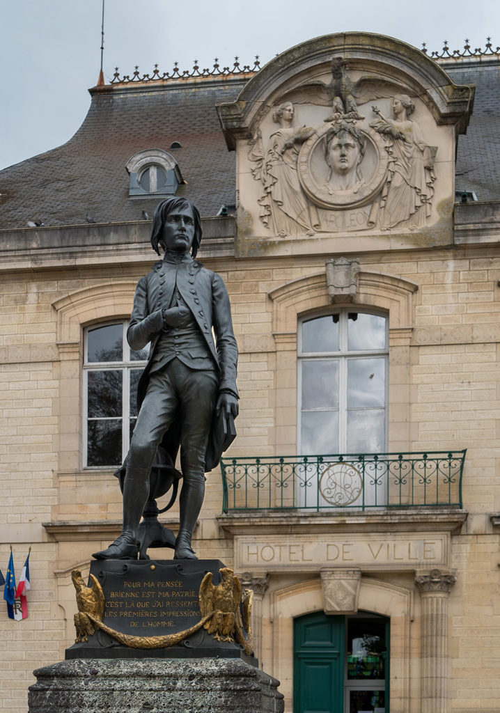 Napoleon in Brienne-le-Château