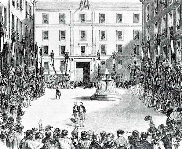 Inauguration de la Cité Napoléon