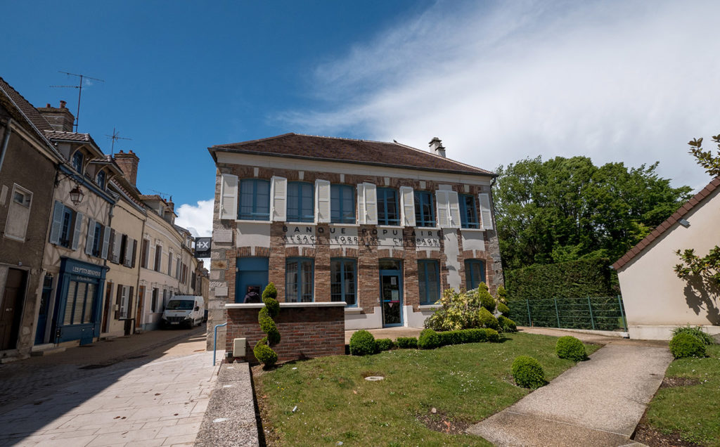 The house where Gustave Flaubert stayed