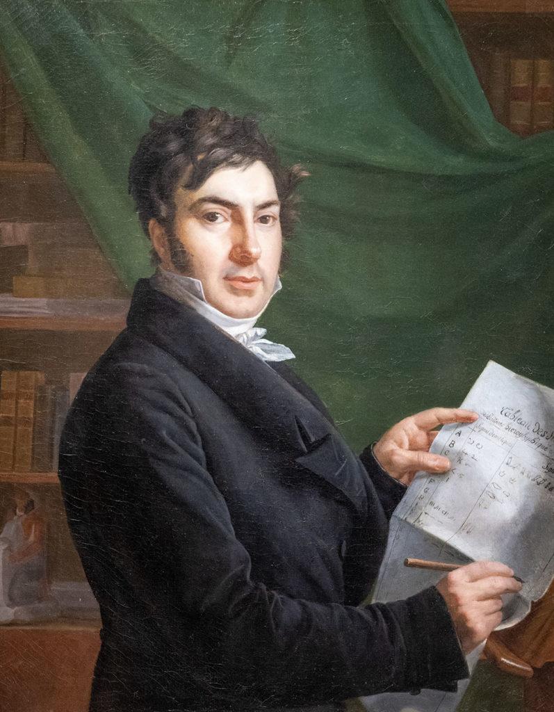 Portrait de Jean-François Champollion