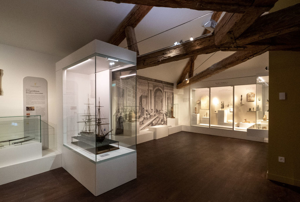 The new Champollion museum in France