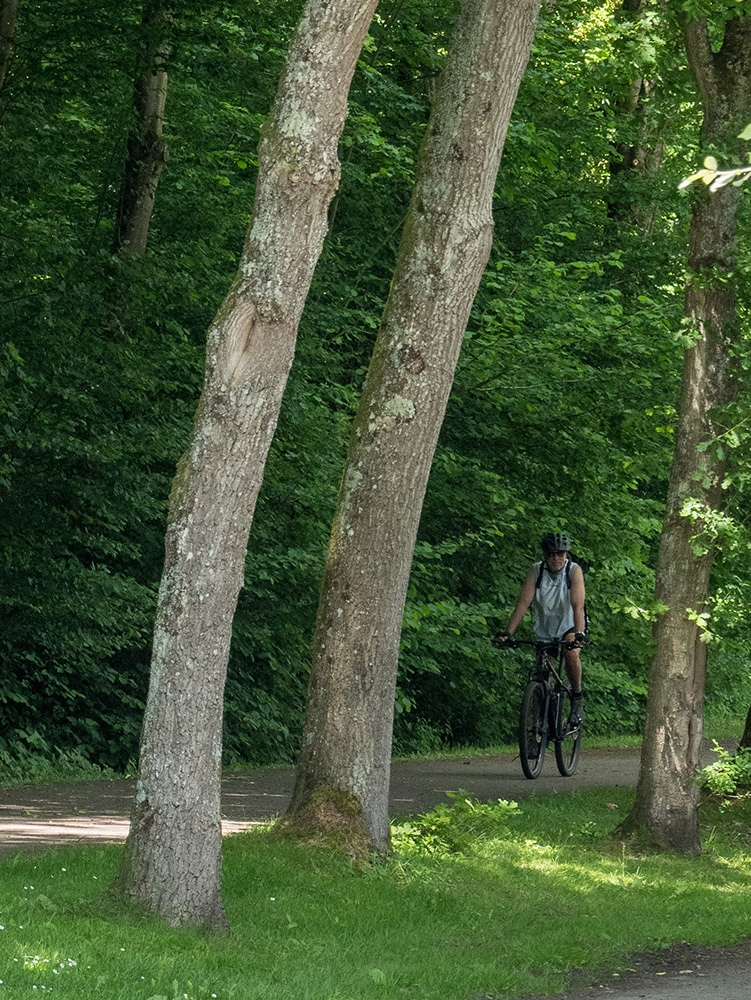 Bike travel in the french department of Eure in Normandy