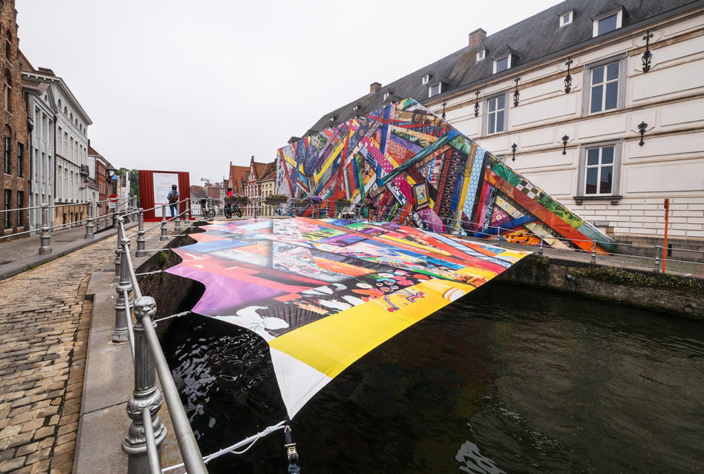 Contemporary art triennial in Bruges